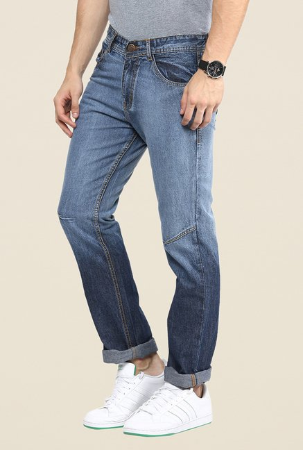 Yepme Blue Light Washed Jeans