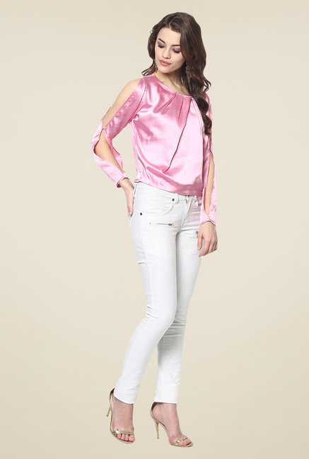 Yepme Rachel Pink Party Top
