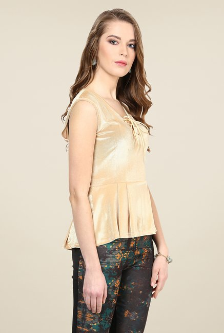 Yepme Amanda Gold Party Top