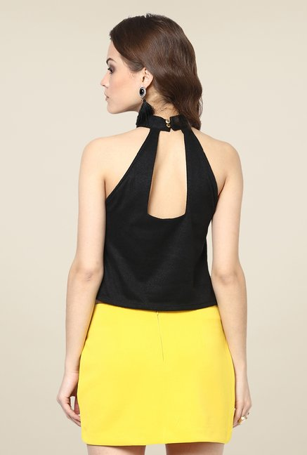 Yepme Emma Black Party Top