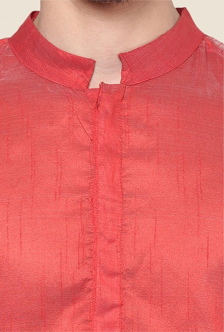 Yepme Red Solid Kurta