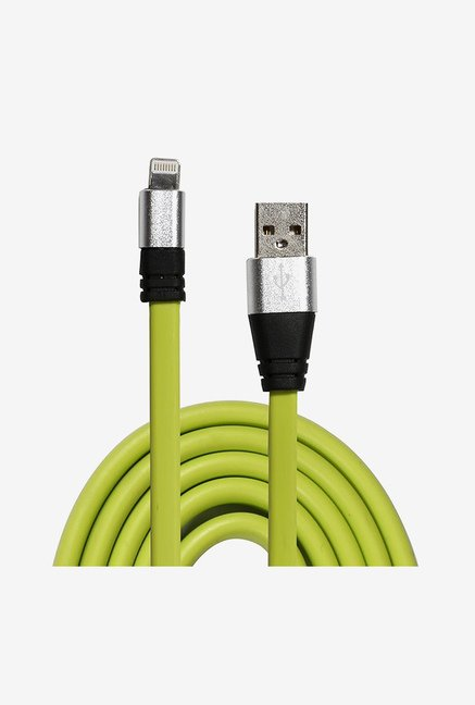 14You 1OTH011 Flat Lightning to USB Cable (Green)