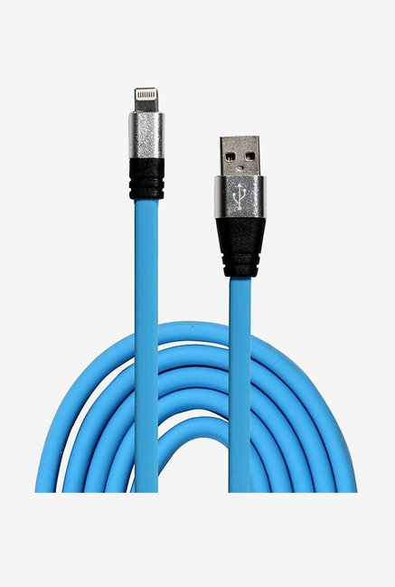 14You 1OTH012 Flat Lightning to USB Cable (Blue)