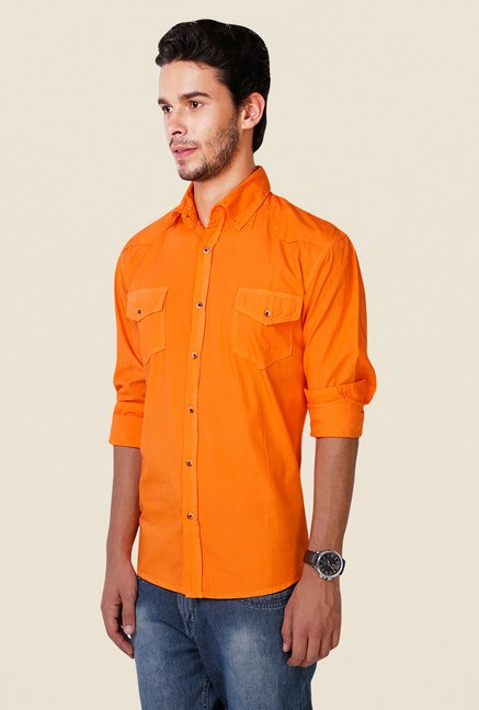 Yepme Orange Freddo Premium Shirt