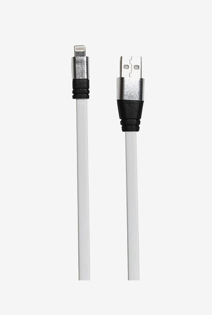 14You 1OTH015 Flat Lightning to USB Cable (White)