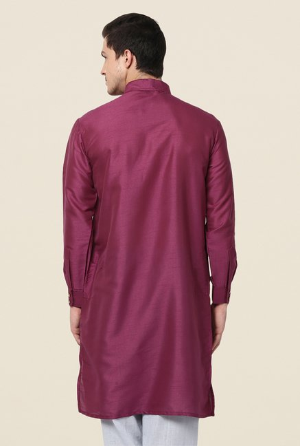 Yepme Purple Rooney Solid Kurta