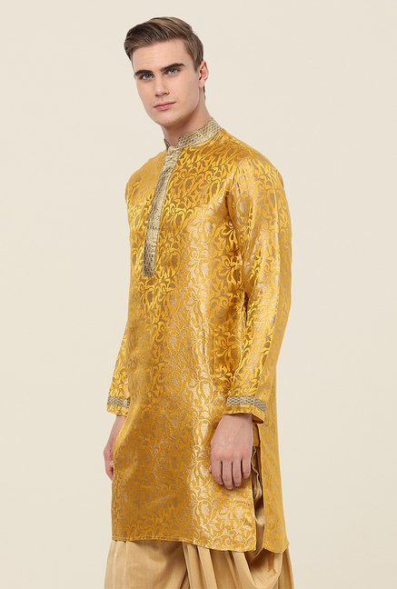 Yepme Gold Thomas Printed Kurta