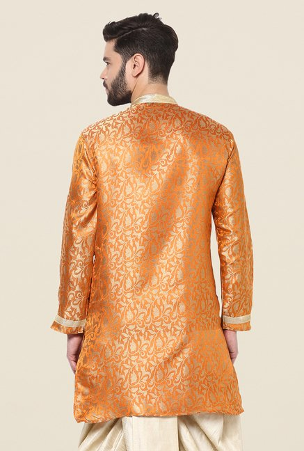 Yepme Orange Thomas Printed Kurta
