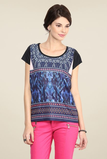 Yepme Janice Multicolor Party Top