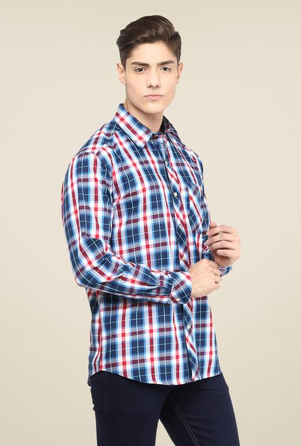 Yepme Multicolor Premium Checks Regular Fit Shirt
