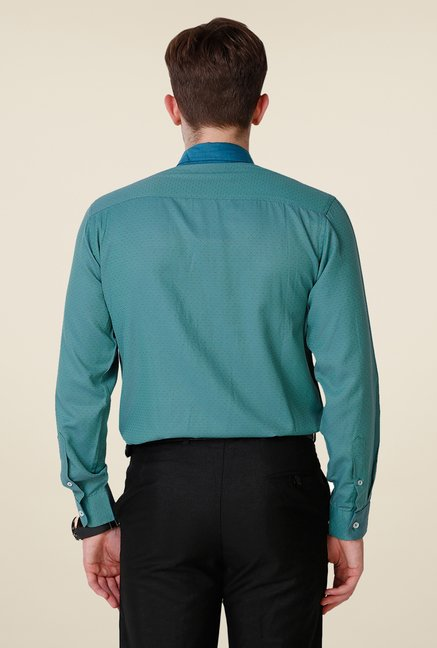 Yepme Green Hanfred Premium Shirt