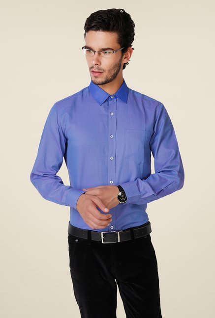 Yepme Blue Hanfred Premium Shirt