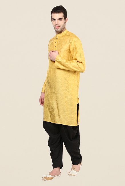 Yepme Yellow Willians Floral Print Kurta