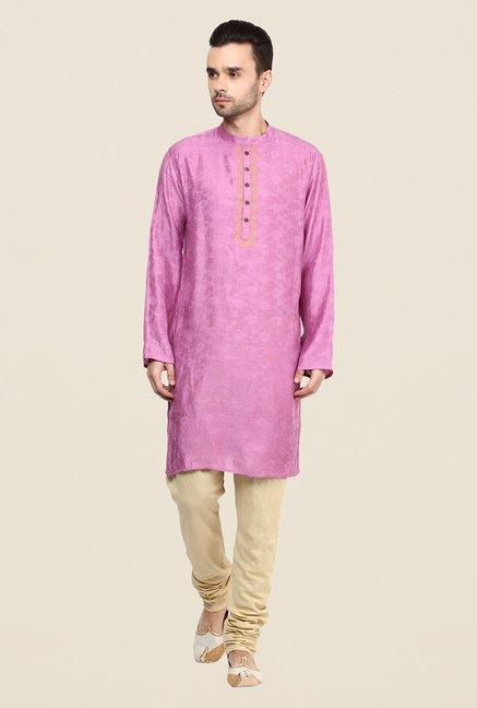 Yepme Purple Willians Floral Print Kurta