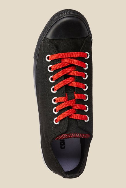 Converse Black & Red Sneakers