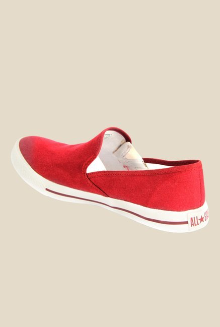 Converse Red Men Plimsolls