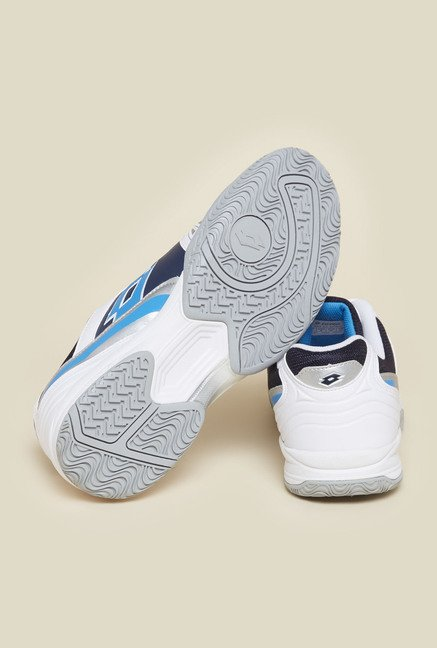 Lotto White T-Effect VIII Tennis Shoes