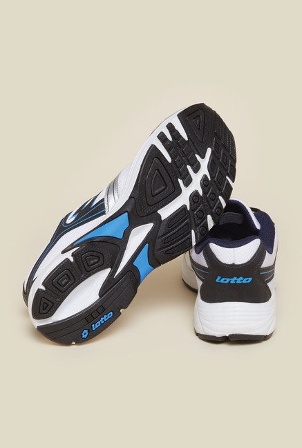 Lotto White & Silver Trail Speed II Running Shoes