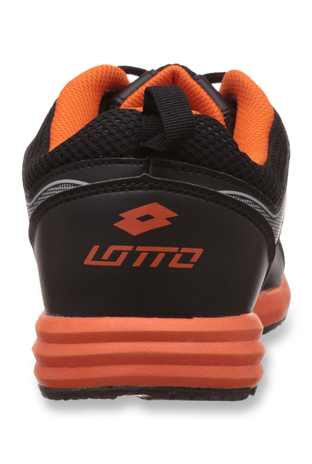 Lotto Black Hurry Running Shoes