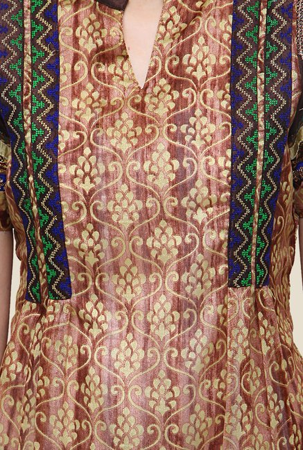 Yepme Genelia Brown Kurta