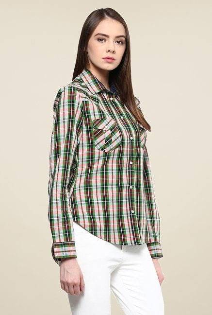 Yepme Multicolor Derica Checks Shirt