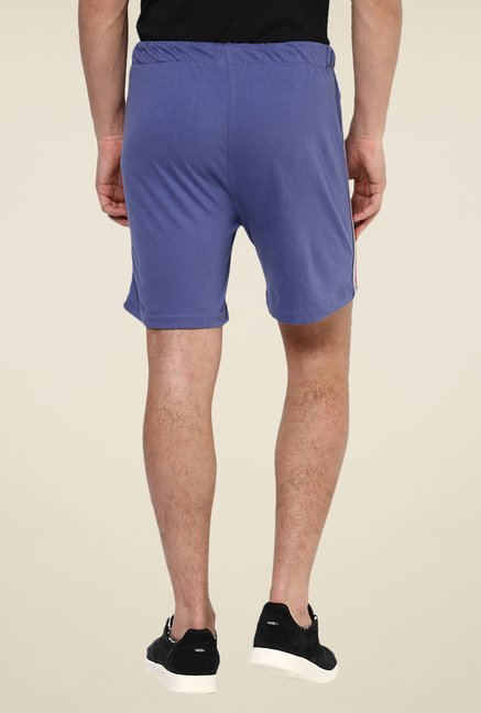 Yepme Terall Blue Solid Shorts