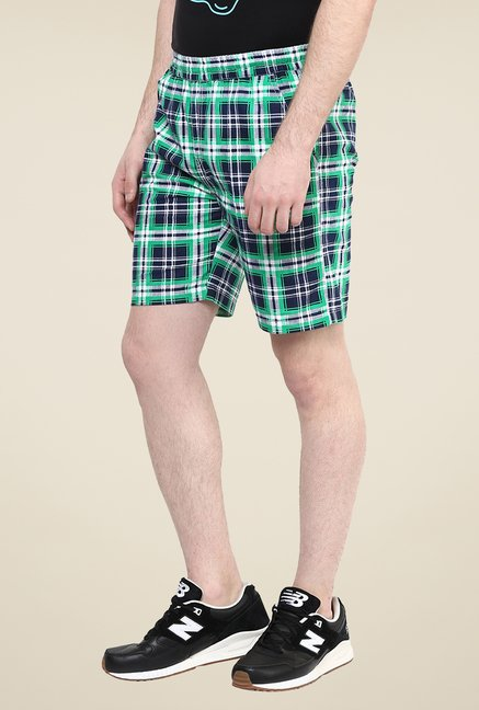 Yepme Multicolor Checks Shorts