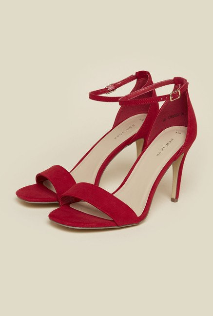 New Look Red Stiletto Sandals