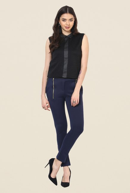 Yepme Emma Dark Blue Party Jeggings