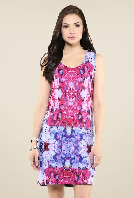 Yepme Multicolor Digital Printed Dress