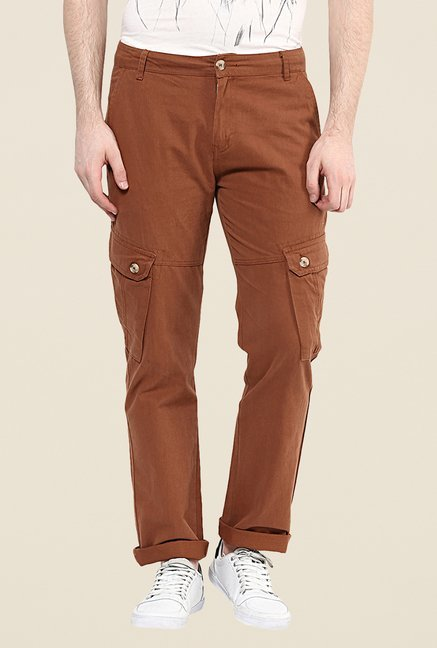 Yepme Nelson Brown Cargos