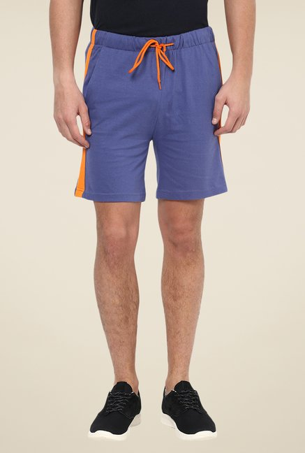 Yepme Ritter Blue & Orange Shorts
