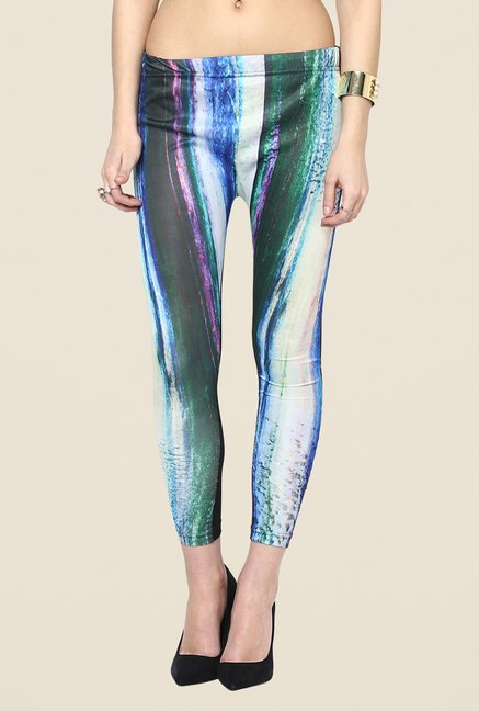 Yepme Ellise Multicolor Print Party Leggings