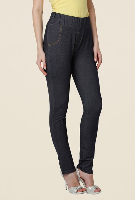 Yepme Regina Navy Solid Jeggings