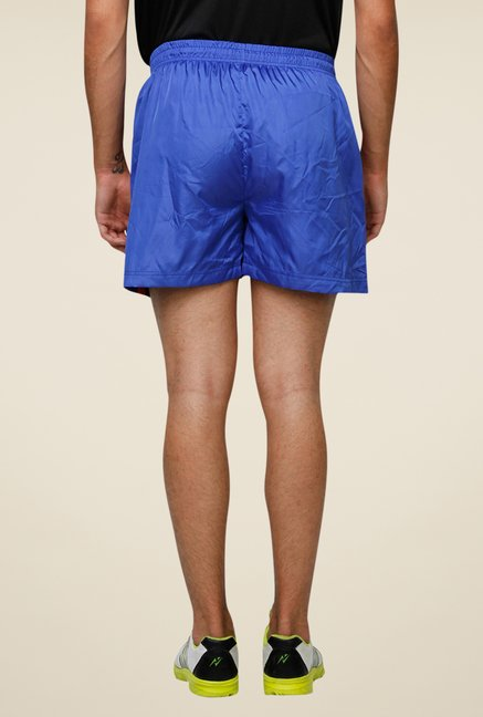 Yepme Blue Mason Solid Sports Shorts