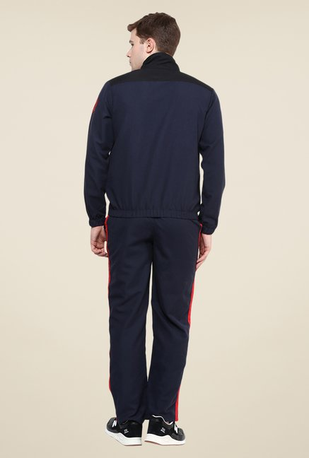 Yepme Navy Solid Tracksuit