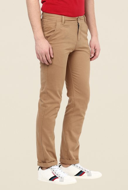Yepme Benn Camel Brown Chinos