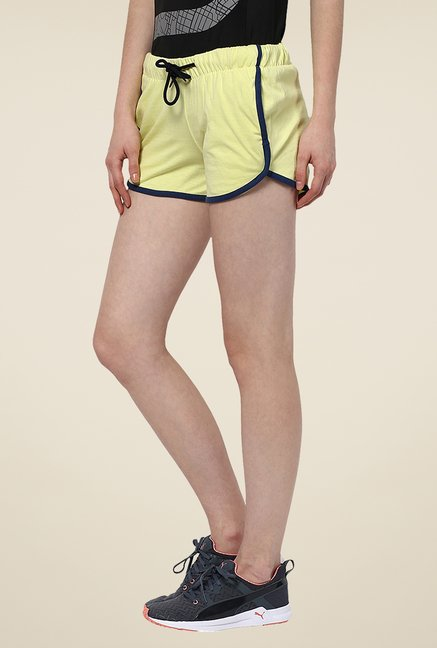 Yepme Benita Green Shorts