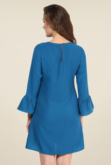 Yepme Dark Blue Marcie Solid Shift Dress
