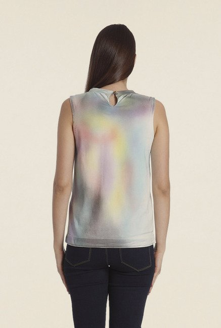 Vero Moda Multicolor Printed T Shirt