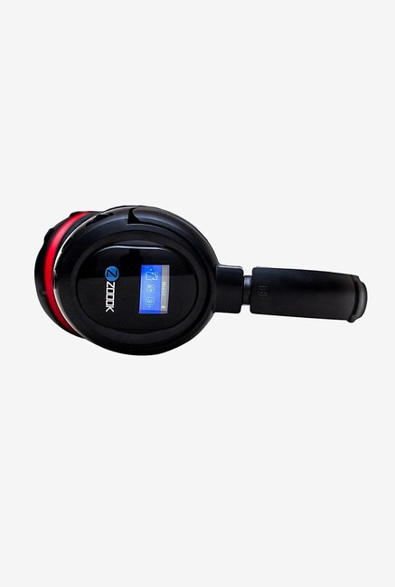 Zoook ZB-BHP110L Wireless On Ear Headphone (Black & Red)