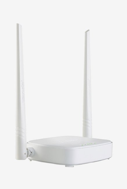 Tenda TE N301 300 Mbps Wireless High Speed Router  White  Tenda Electronics TATA CLIQ