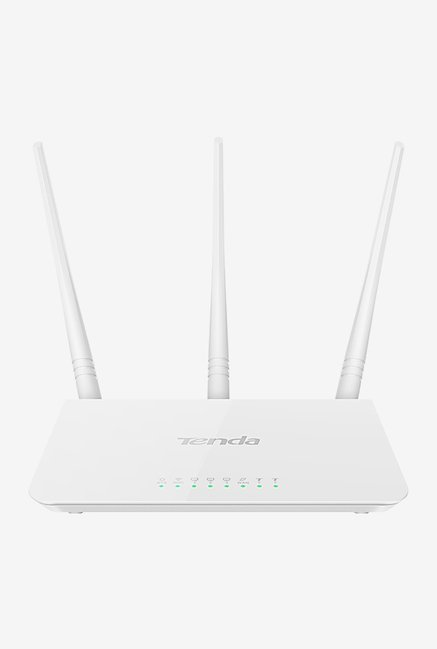 Tenda TE F3 300 Mbps Wireless High Speed Router  White