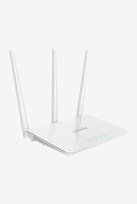 Tenda TE-F3 300 Mbps Wireless High Speed Router (White)
