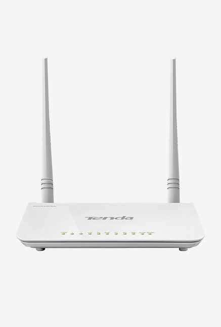 Tenda TE-D303 300 Mbps Wireless Router (White)
