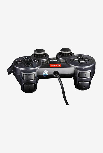Enter E-GPV Gamepad with 12 Fire Buttons (Black)