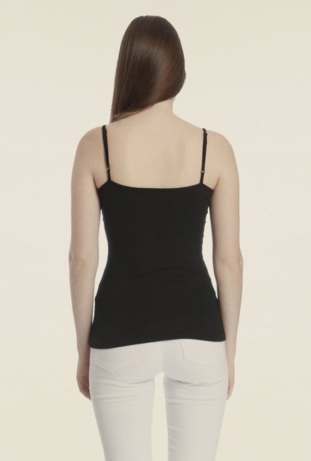 Vero Moda Black Solid Top