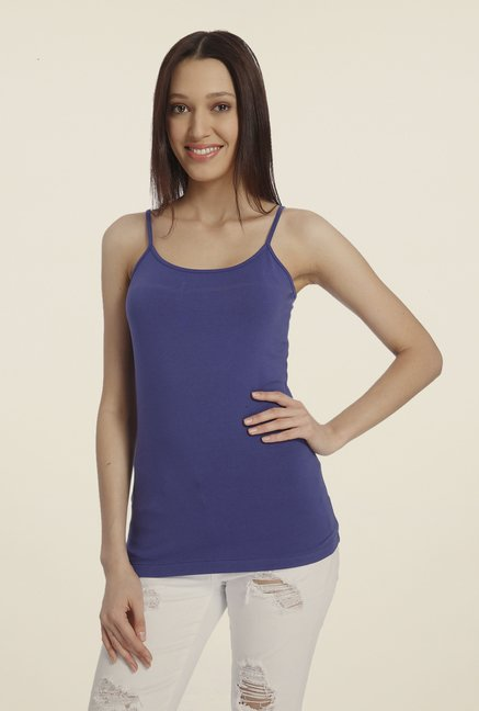 Vero Moda Navy Solid Top