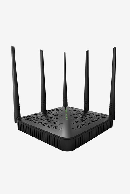 Tenda TE-FH1202 300 Mbps Wireless High Speed Router (Black)