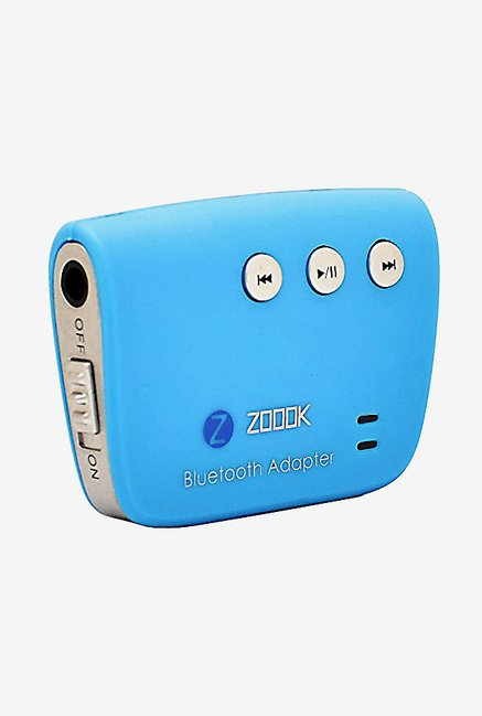 Zoook ZBBR165 Bluetooth Audio Adapter (Blue)
